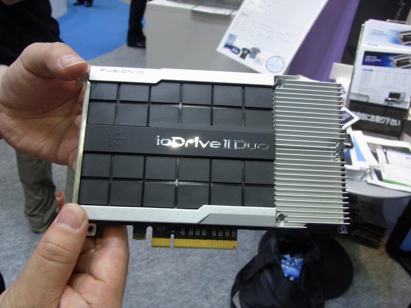 フュージョンアイオーのフラッシュストレージの最上位モデルioDrive2 Duo