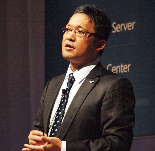 日本マイクロソフト株式会社 サーバープラットフォームビジネス本部 業務執行役 本部長 梅田成二氏