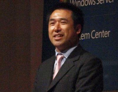 三井物産株式会社 IT推進部 技術統括室 室長 林郁夫氏