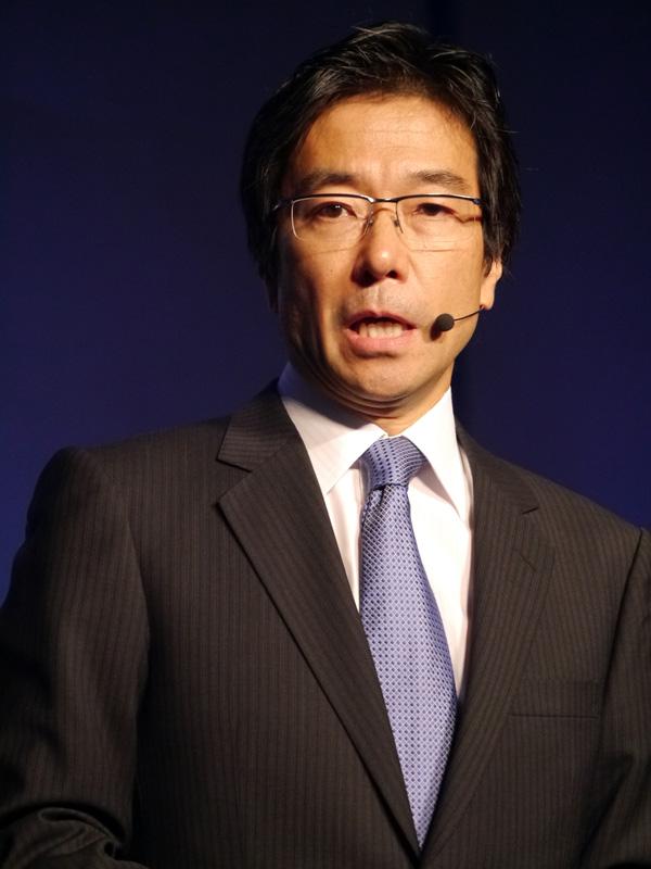 代表執行役社長の樋口泰行氏