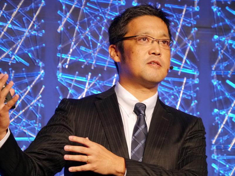 日本マイクロソフト 業務執行役員サーバープラットフォームビジネス本部の梅田成二本部長