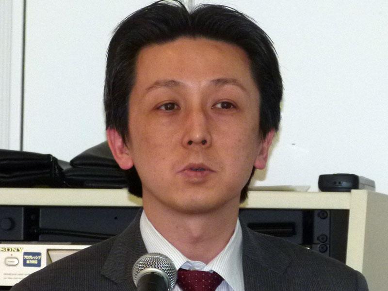 RSA事業本部 マーケティング部長の水村明博氏