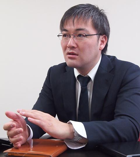 ブランドダイアログ株式会社 ソリューション本部 部長の江戸純哉氏