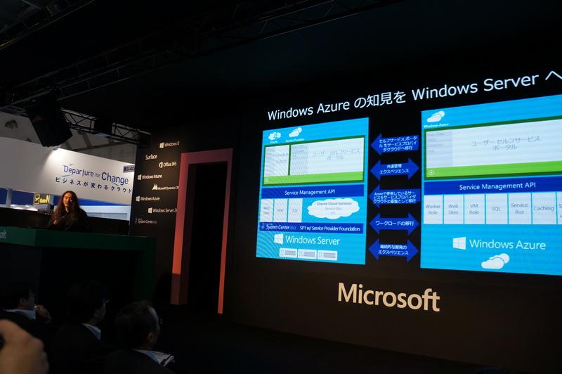 ミニセミナーでのWindows Azure services for Windows Serverの解説とデモ