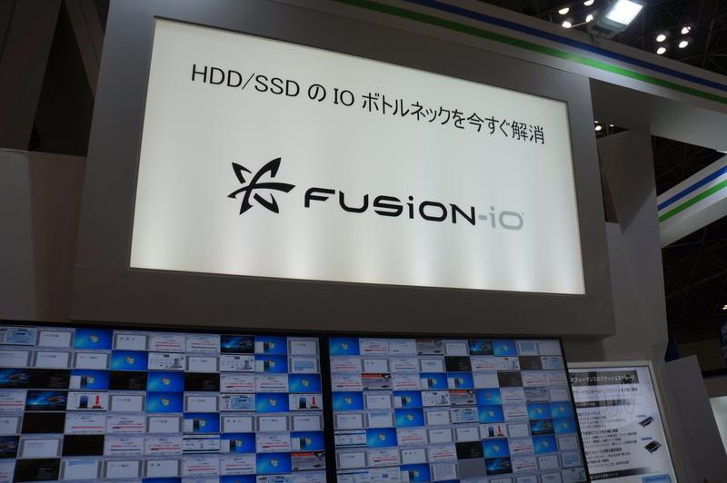 サーバー内蔵型高速フラッシュストレージのFusion-io