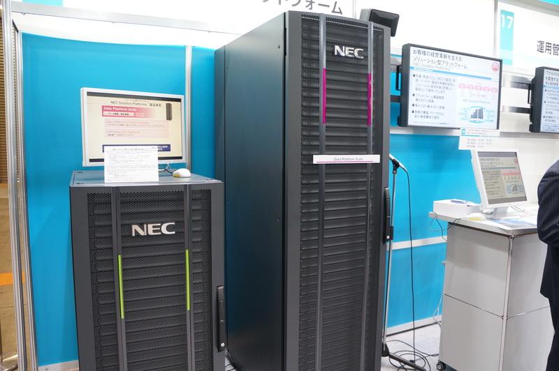 NECの垂直統合型製品「NEC Solution Platforms」