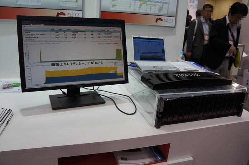 TintriのVM用SSD&HDDハイブリッドストレージ製品