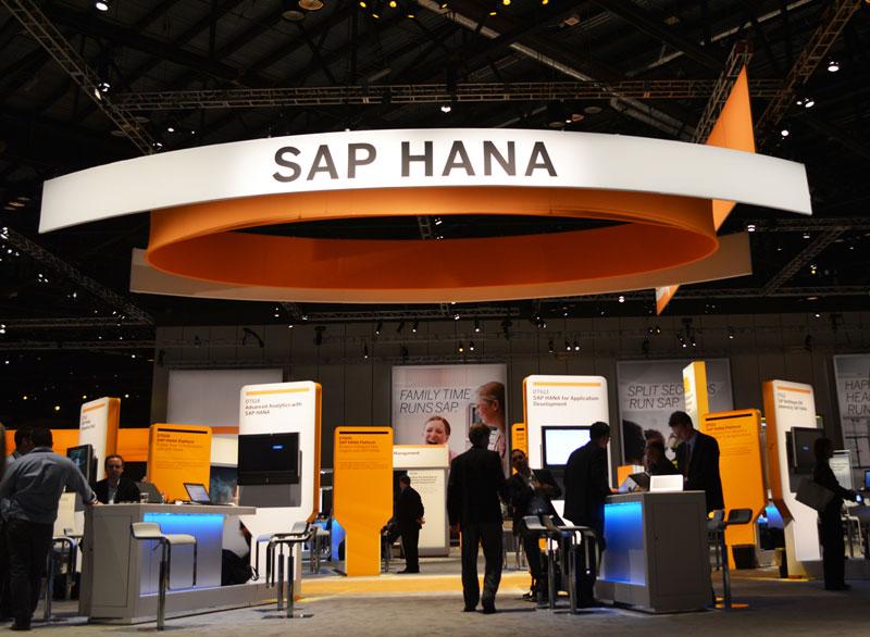 SAPPHIRE NOW 2013では一段とHANAへのフォーカスが強まっていた。AWS上のサービスも今後はHANAベースのものが増えていく