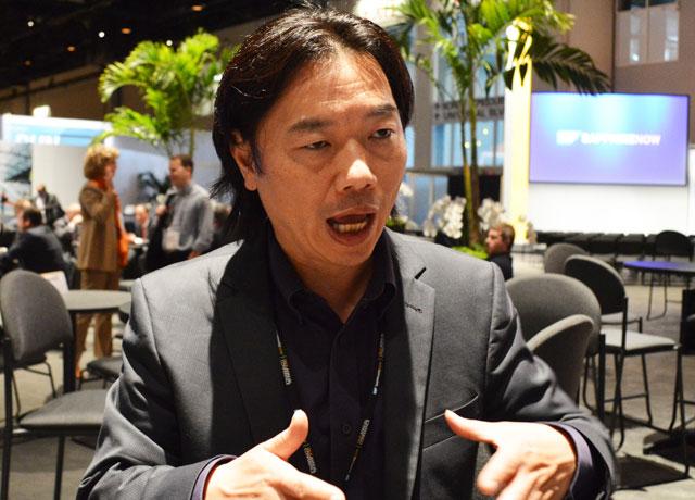 SAP HANAマーケティング部門 バイスプレジデントのケン・ツァイ氏