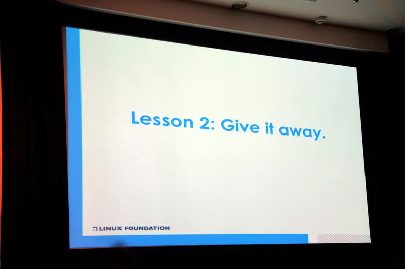 教訓2「Give it away」(すべてあげてしまう)