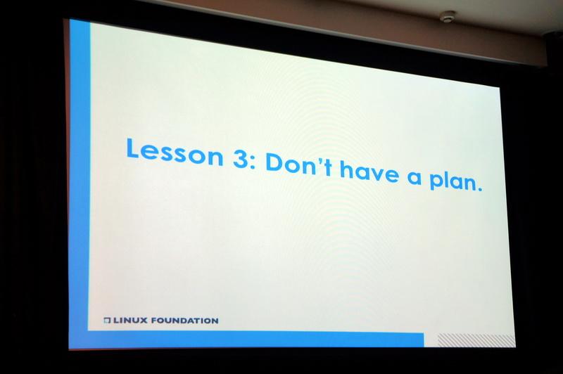 教訓3「Don't have a plan」(計画するな)