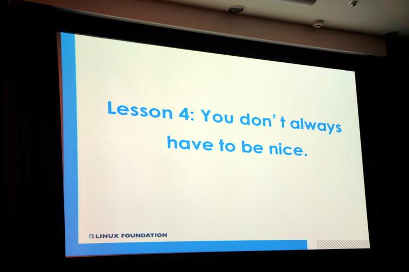 教訓4「You don't always have to be nice」(いつもいい人でいる必要はない)