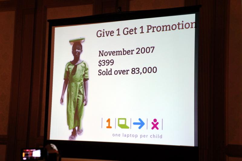 OLPC(One Laptop per Child)プロジェクトの紹介