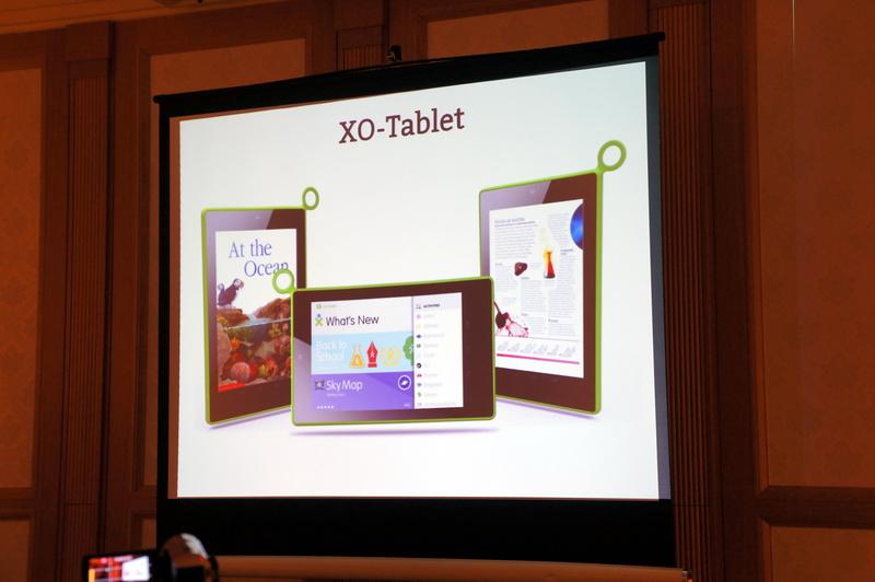 今年発表された「XO-Tablet」