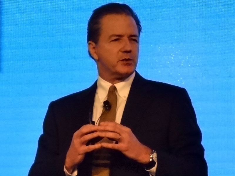 HP エンタープライズグループ アジアパシフィック&日本担当 シニアバイスプレジデント兼ジェネラルマネージャー Jim Merritt氏