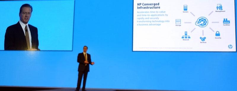 HPのコンバージドインフラストラクチャ戦略について語るJim Merritt氏