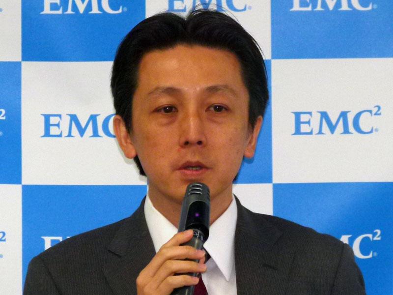 EMCジャパン RSA事業本部 マーケティング部長の水村明博氏