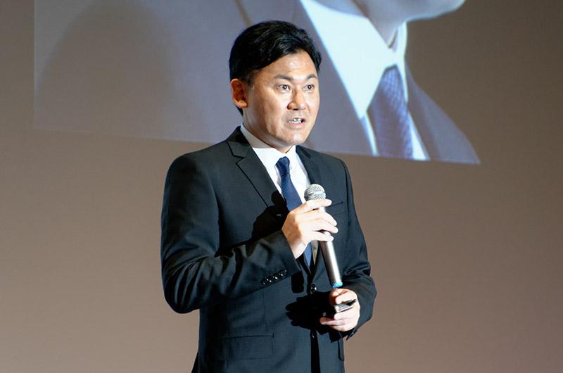 楽天株式会社 代表取締役社長 三木谷 浩史氏