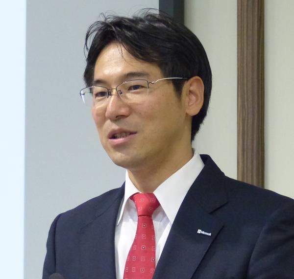 日本マイクロソフト株式会社 業務執行役員 パブリックセクター 文教営本部長 中川 哲氏