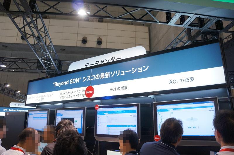 Cisco ACIの展示