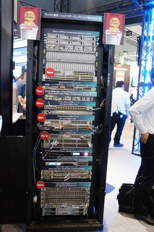ACIに対応したNexus 9000シリーズスイッチやAPICなど