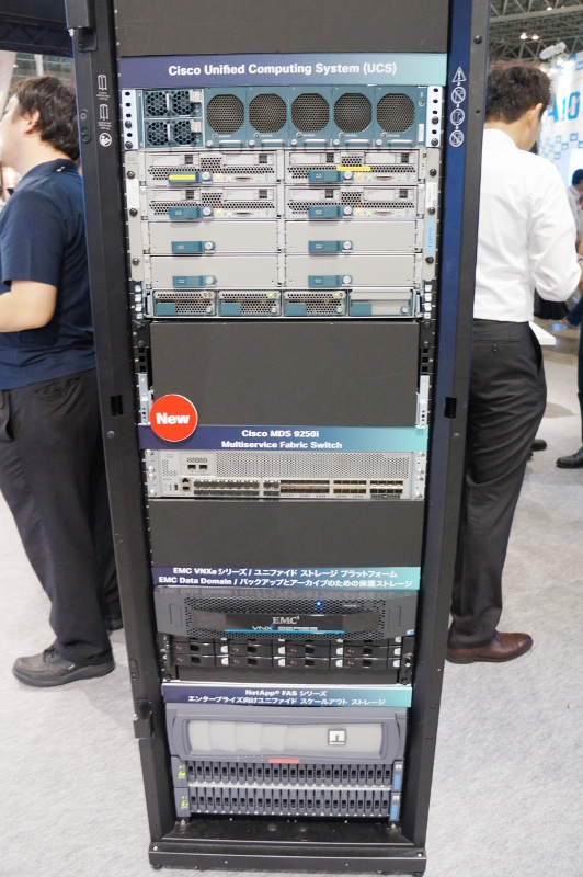 Cisco UCSとマルチストレージ接続