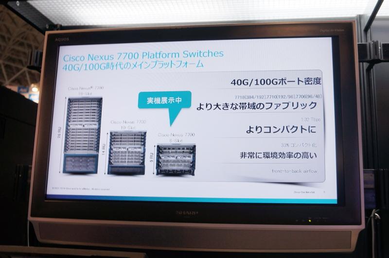 Cisco Nexus 7700シリーズの6スロットモデル