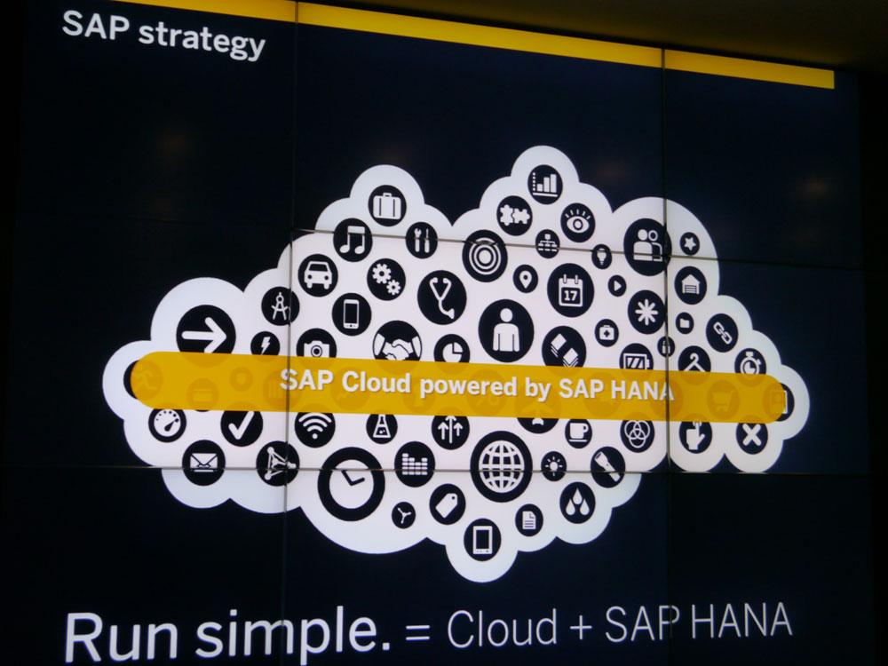 Run Simple.=Cloud+SAP HANA