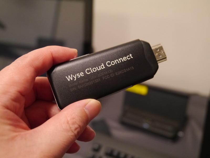 Wyse Cloud Connect。USB端子に接続するだけで自分の環境を実現する