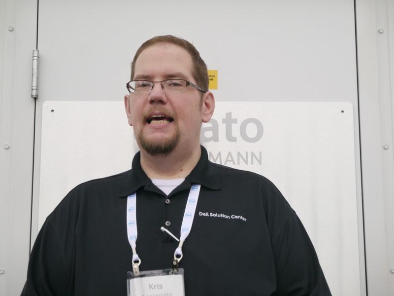 米Dell Dellソリューションセンター クラウド/ビッグデータソリューションアーキテクトのKris Applegate氏