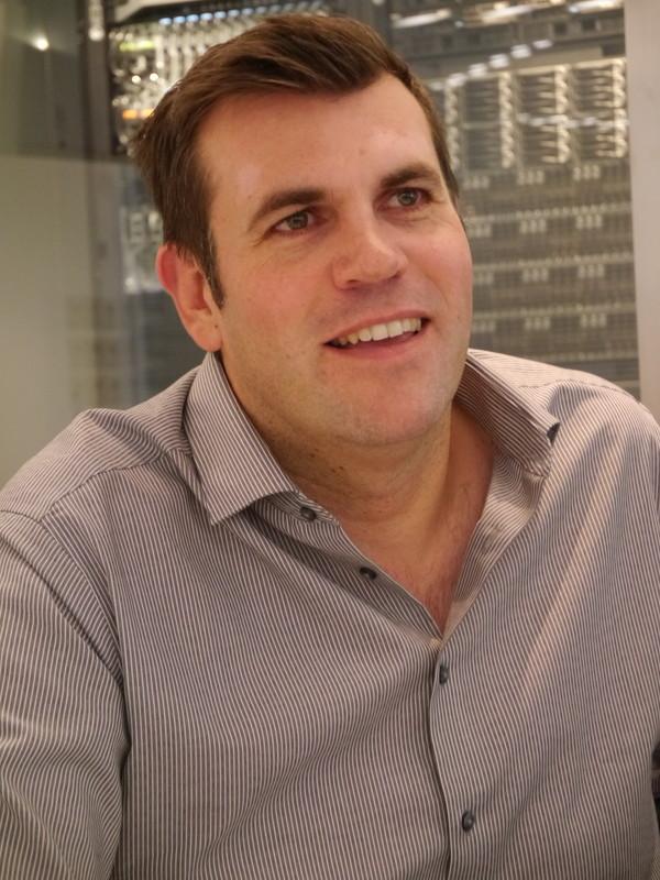 米Dell Precisionワークステーション担当エグゼクティブディレター兼ゼネラルマネージャーのAndy Rhodes氏