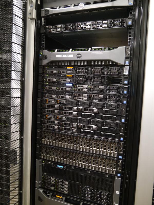 Dell Solution Centerの通常のデータセンターの様子