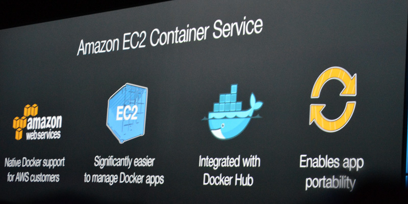 Amazon ECSの特徴は「ネイティブサポート」「スケジューラ」「Docker Hubとの統合」「アプリケーションの可搬性」