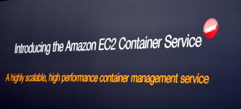 イベント開催前から話題になっていたDocker関連の発表はEC2上のコンテナをクラスタ管理する「Amazon EC2 Container Service」