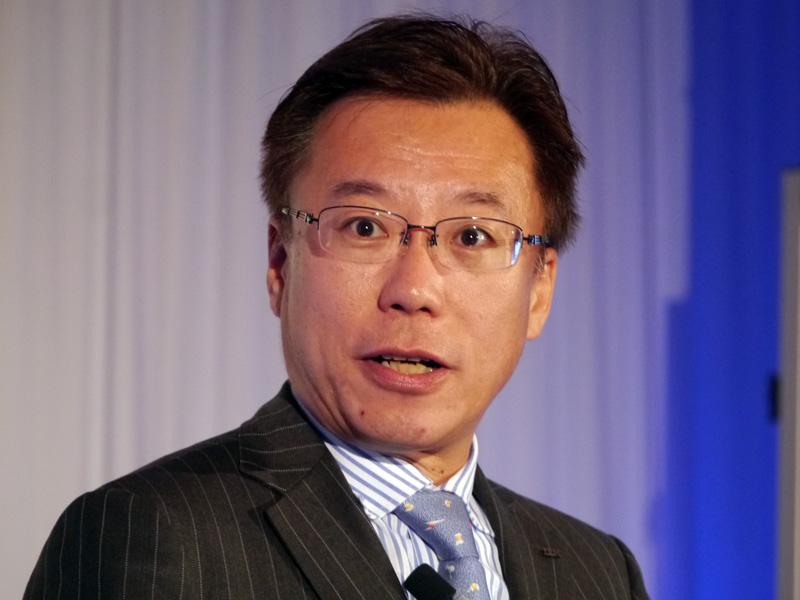 日本IBM クラウド事業統括担当の小池裕幸執行役員