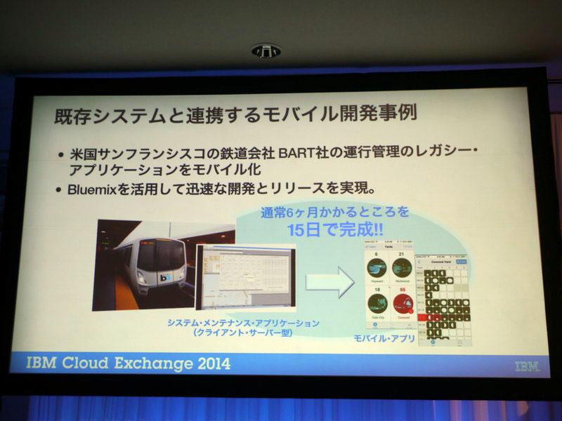 既存システムと連携したモバイル開発例