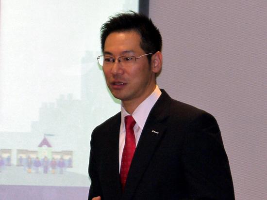 日本マイクロソフト 業務執行役員 パブリックセクター統括本部 文教本部長の中川哲氏
