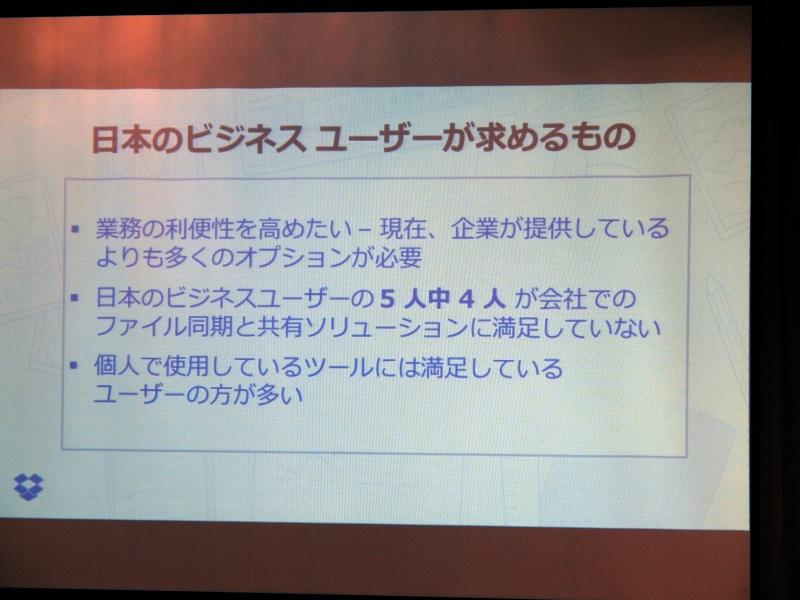 日本のビジネスユーザーの5人中4人は会社でのファイル共有ツールに満足していない