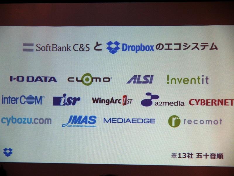 提携を発表した企業