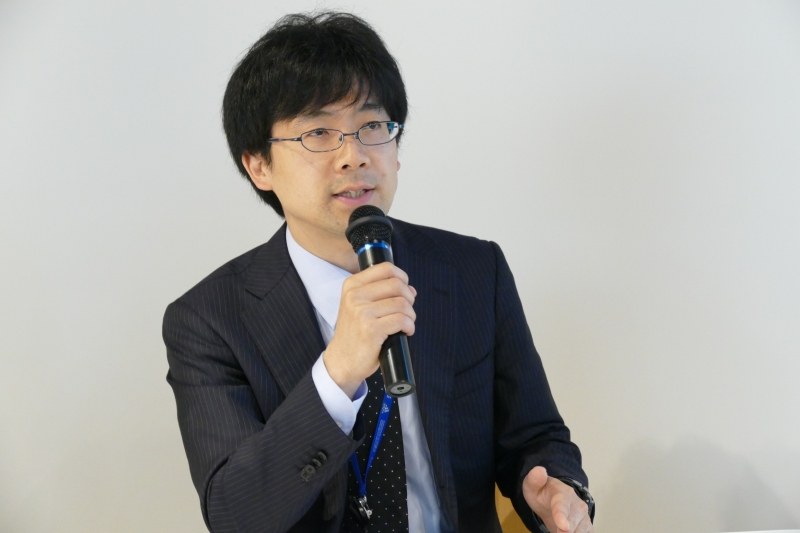 株式会社NTTデータの筒井健氏
