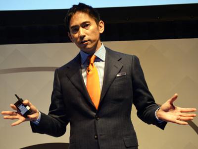 アマゾン データサービス ジャパン 代表取締役社長の長崎忠雄氏