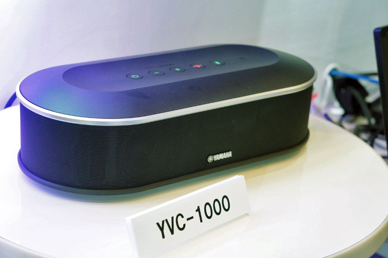 YVC-1000の展示