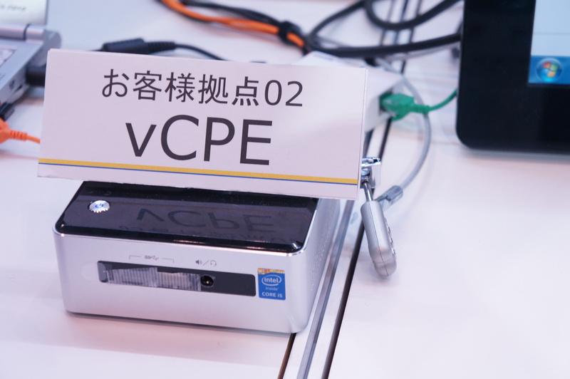 vCPEの装置