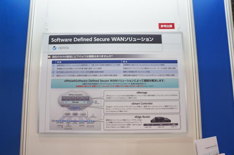 Software Defined Secure WANソリューション「vIPtela」