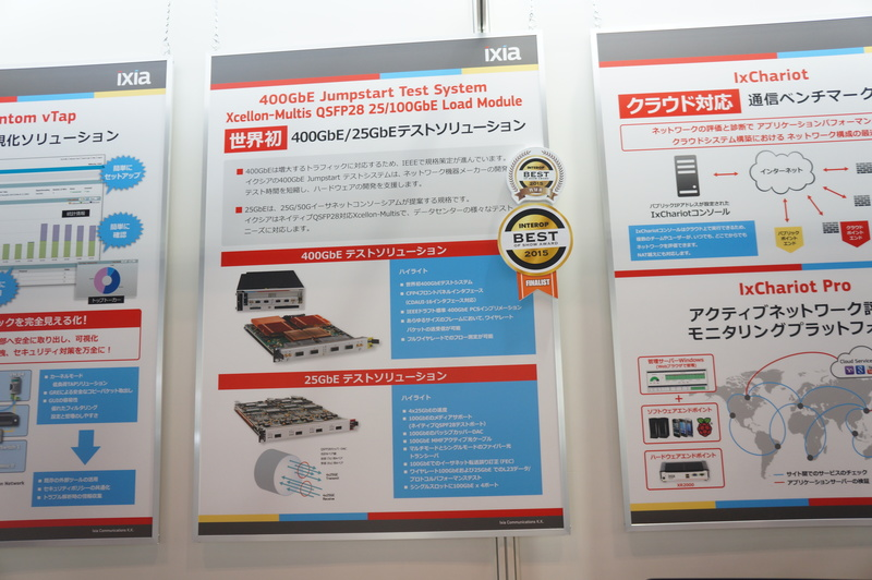 400GbE/25GbEテストソリューション