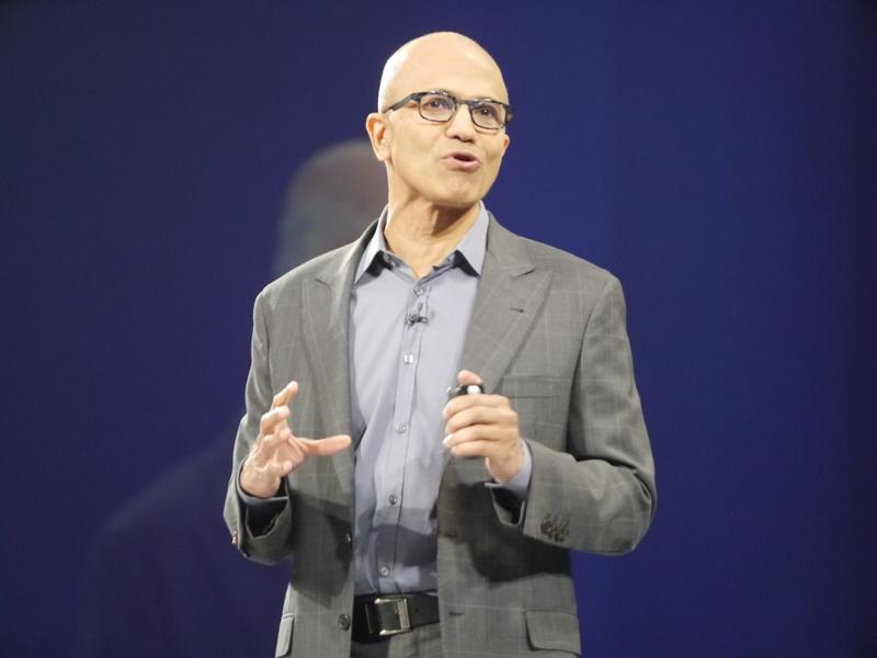 米Microsoftのサティア・ナデラCEO