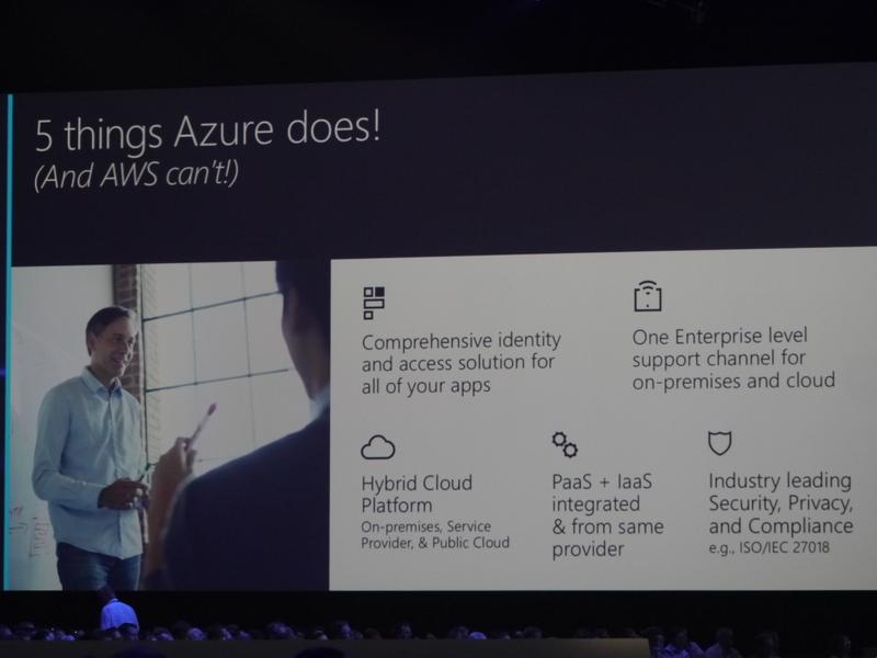 Microsoft Azureの5つの優位性
