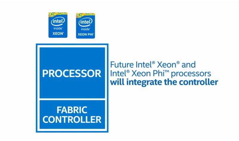 Omni-Pathは、今後Xeon Phiだけでなく、Xeonにもインテグレーションされる