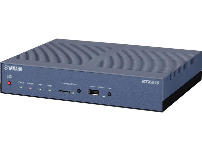 LAN2系統のRTX810【左】と、3系統のRTX1210【右】