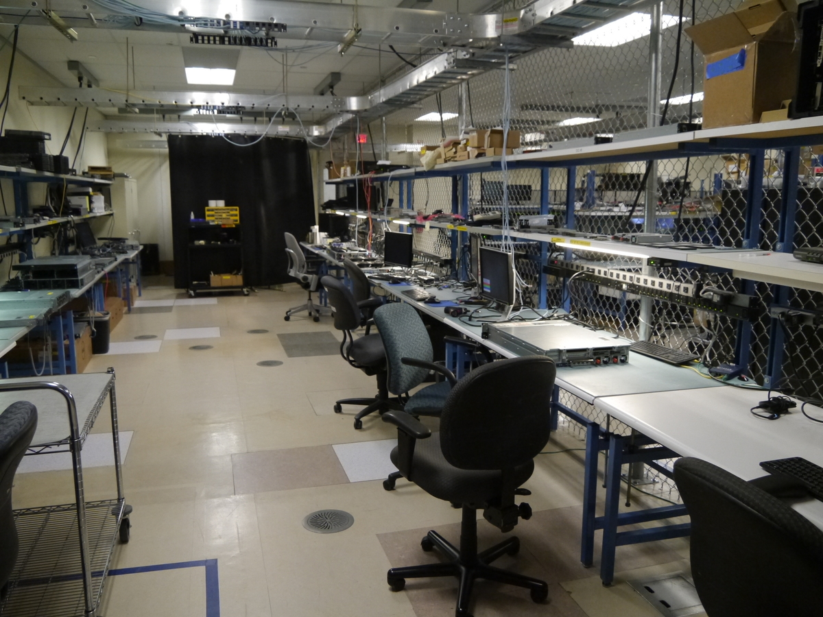 Datacenter Solutions Sonic Labの様子